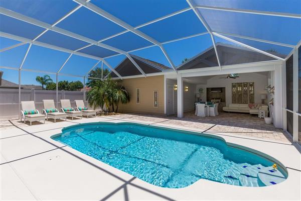 Firebush, Reunion Resort, Orlando, Florida