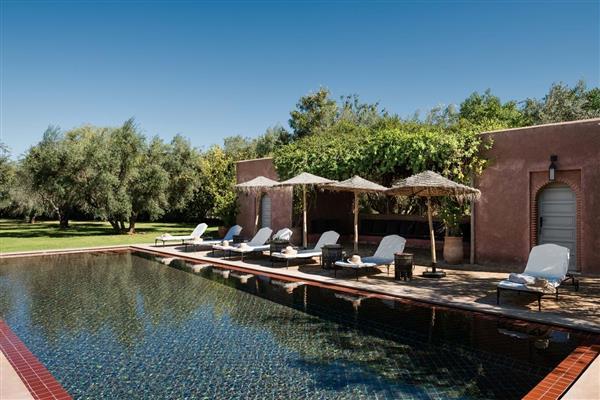 Villa Mauresque, near Marrakech, Morocco