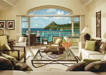 Apartment Ocean View III with Hot Tub in St Lucia