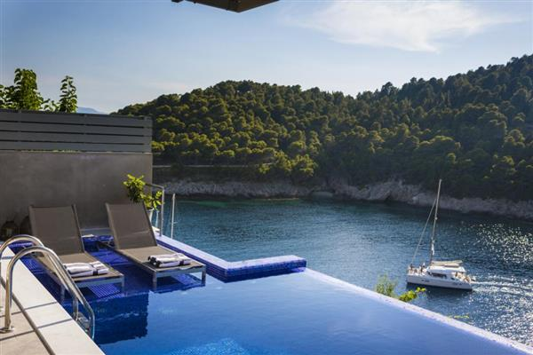 Assos Waterfront in Ionian Islands