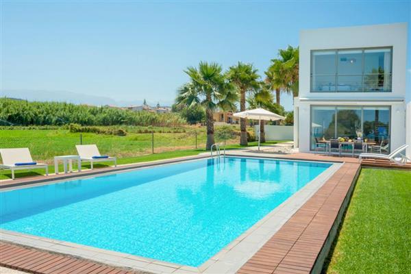 Blue Sea Villa in Crete