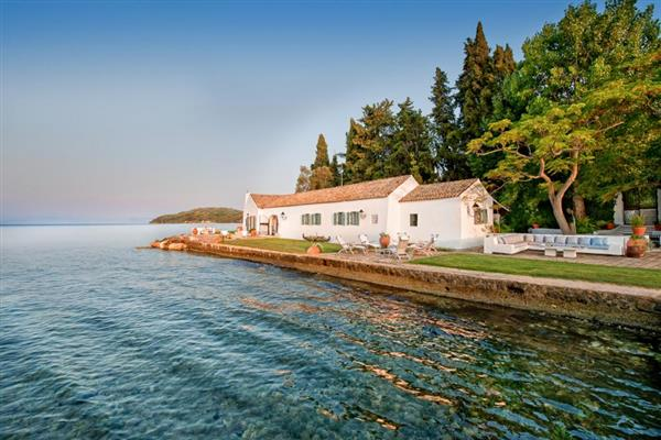 Boukari Bay in Ionian Islands