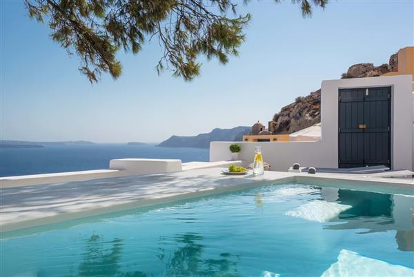 Caldera View in Southern Aegean