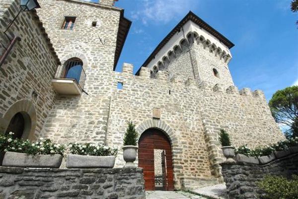 Castello Gubbio in Provincia di Perugia