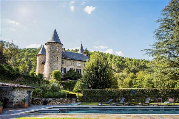 Chateau Chamborigaud from Oliver's Travels