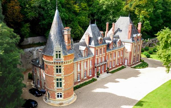 Chateau Saint-Clair, Normandy - France