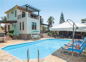 Christina Villa, Argaka, Cyprus With Swimming Pool