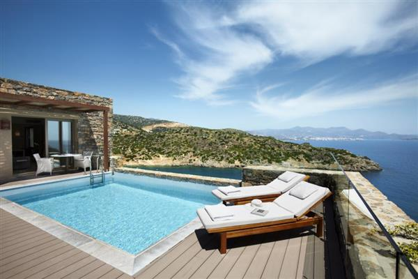 Daios Two Bedroomed Wellness Villa in Crete