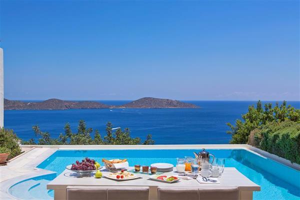 Elounda Gulf - Aegean Pool Villa in Crete