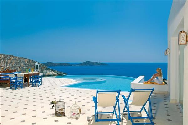 Elounda Gulf - Imperial Spa Pool Villa in Crete