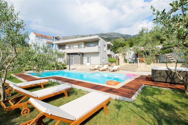 Hillside Villa in Općina Podstrana