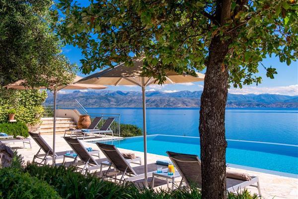 Kalamaki Bay House in Ionian Islands