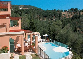Karydia in Corfu