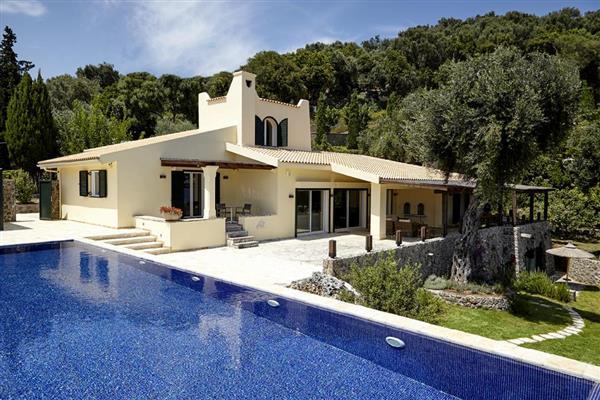 Kommeno View in Ionian Islands