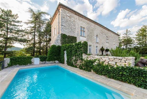 Le Chateau Aubenas, Provence, France