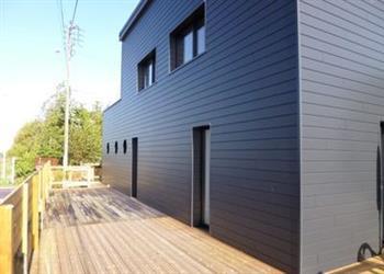 Maison en Bois, Blainville-sur-Mer, Manche - France