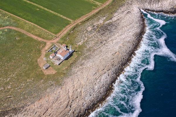 Malena Lighthouse in Općina Ližnjan