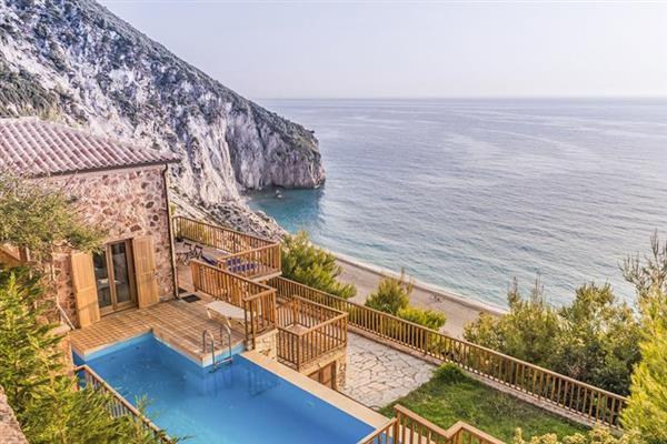 Milos Beach Poseidon in Ionian Islands