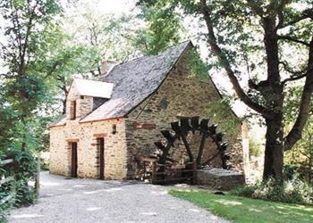 Moulin de Huno in Bretagne