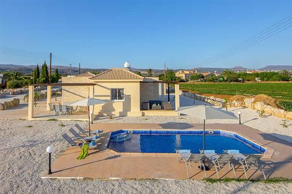 Orange Tree Villa, Latchi, Cyprus With Swimming Pool