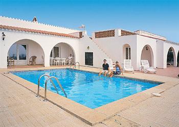 Panorama in Menorca