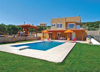 Panorama in Crete