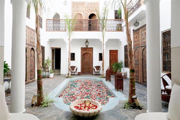 Riad Gypsum in Marrakech