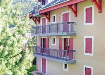 Saint-Gervais-les-Bains in Haute-Savoie