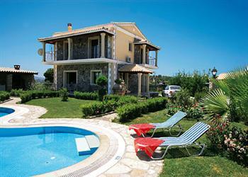 Stone Villa Georges in Corfu