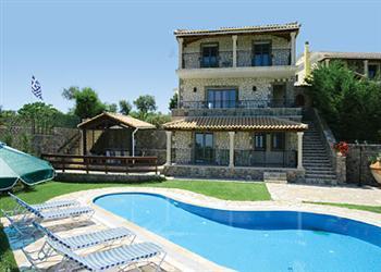 Stone Villa Petros in Corfu