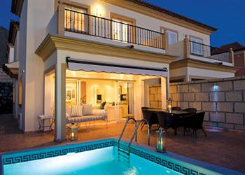 Sunshine villa in Tenerife