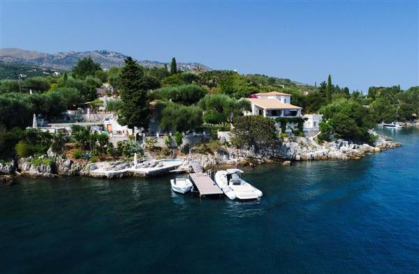 The Boat House in Ionian Islands