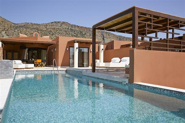 The Residence 2 bedroomed villa in Crete