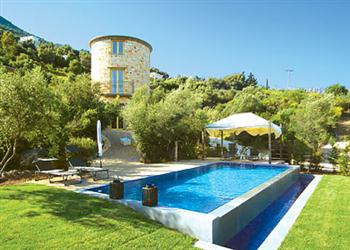 Thyme Tower Villa in Lefkas