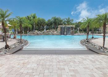 Townhouse Paradise Palms Executive Plus IV, Paradise Palms, Orlando - Florida With Swimming Pool
