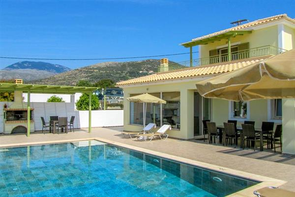 Turtle Beach Villa in Kefalonia