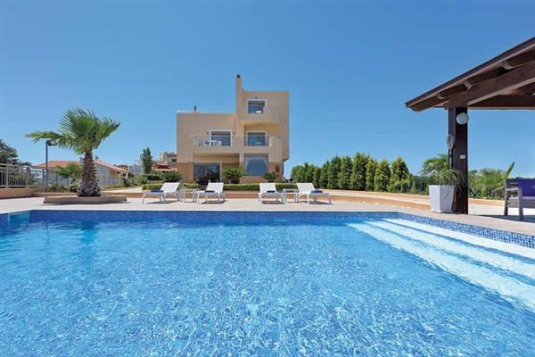 Villa Aegean Blue in Rhodes