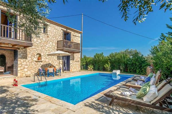 Villa Afrodite in Agios Dimitrios, Zakynthos