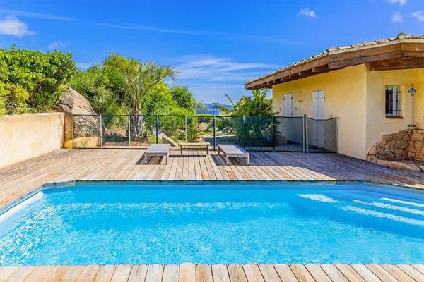 Villa Amanza in Corsica