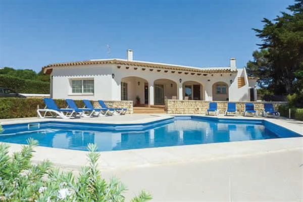 Villa Arena Blanca in Menorca