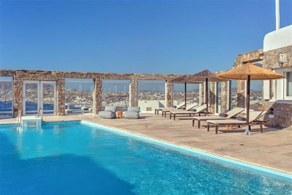 Villa Beniamin in Southern Aegean
