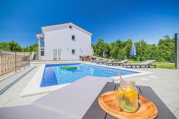 Villa Berta in Croatia