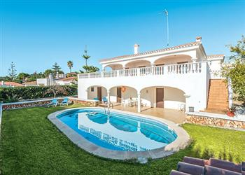 Villa Bini Fortu in Menorca