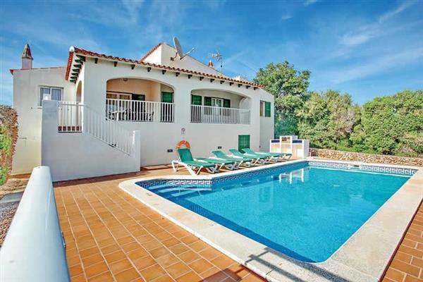 Villa Bini Jasmin in Menorca