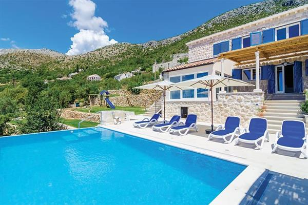 Villa Blue in Croatia