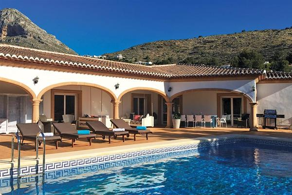 Villa Bluebell in Spain
