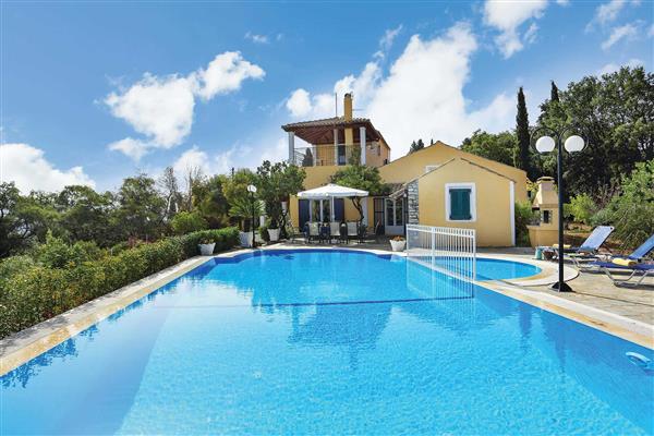 Villa Bouritsa in Corfu