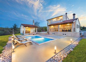 Villa Bura in Croatia