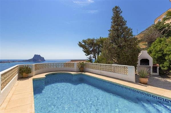 Villa Calpe in Alicante