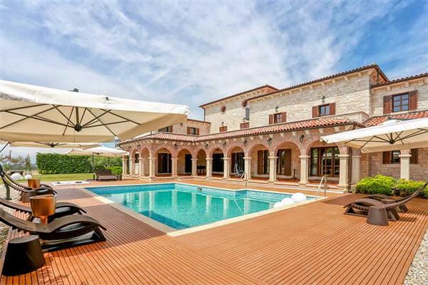 Villa Carlous in Croatia